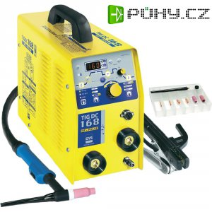 Svářecí invertor GYS TIG 168 DC HF, 230 V, 10 – 160 A, 011410