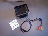 """LCD monitor 12V 3,5"""""""