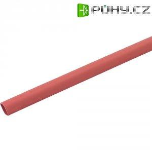 Smršťovací bužírka 6/2 mm, červená, 1 m