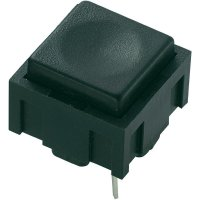 Tlačítko do DPS PBS-18B, 50 V DC/AC, 0,025 A, 1x vyp/(zap)