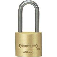 Visací zámek Stanley Solid Brass, 20 mm, dlouhý (81110371401)