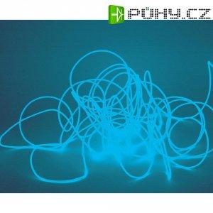 Elektroluminiscenční kabel, Ø 2 mm, 2 m, světle modrá