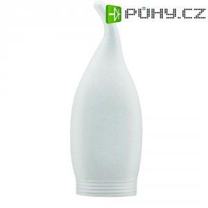 Stínítko pro žárovku Paulmann E14/E27, saténová svíčka zakroucená