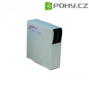 Suchý zip samolepící v boxu Fastech, 20 mm x 10 m, černá