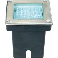Vestavné LED podlahové svítidlo, 36 LED, 3,76 W, hliník