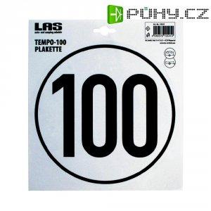 Nálepka s uvednou max. rychlostí LAS, 10541, 100 km/h