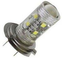 Žárovka LED H7 10-30V, bílá, 10xLED CREE XP-E