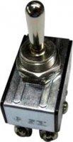 Páčkový spínač SCI R13-28E-06, 250 V/AC, 10 A, 2x zap/vyp/zap, 1 ks