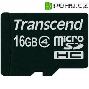 Pamětová karta microSDHC Transcend 16GB, Class 4