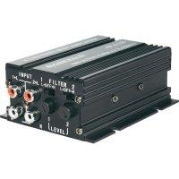 Koncový minizesilovač Basetech AP-4012, 372807, 4x 50 W