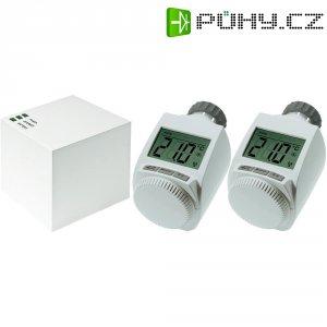 Sada bezdrátové LAN centrály Cube + 2x termostatická hlavice eQ-3 MAX! 99017