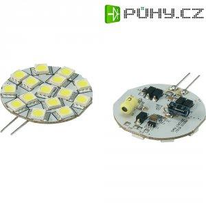 LED žárovka Renkforce, G4, 2,3 W, 30 V, 45 mm, studená bílá