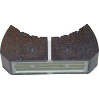 Knoflík na posuvný potenciometr ALPS 76501, 13 x 25 mm, černá