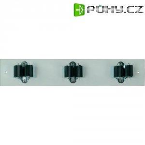 Lišta s držáky Prax 3-35W, Ø 35 mm, 330 x 60 mm