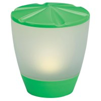 Solární LED světlo Konstsmide Assisi Turner, zelená (7107-900)