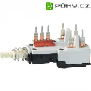 Kolébkový spínač, tlačítkový spínač Potentiometer Service GmbH TYP2, 250 V/AC, 2.5 A, 1 ks