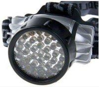 Svítilna LED 35x, čelovka,napájení 3xAAA