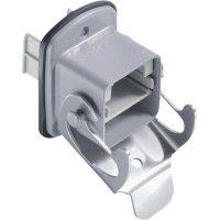 Příruba USB 2.0 BTR Netcom 1401U63310ME, IP67, přírubová zásuvka, kov