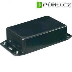 Euro pouzdro Hammond Electronics, (d x š x v) 100 x 50 x 25 mm, černá