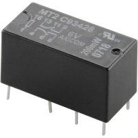 Signálové relé MT2, 2 A, 2 přepínací kontakt (zdvojené kontakty) 12 V/DC TE Connectivity C93418