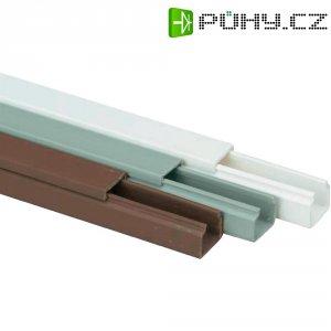 Elektroinstalační lišta Heidemann, 09941, 15x15 mm, 2 m, šedá