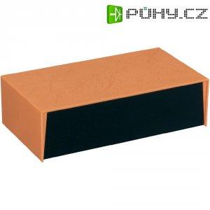 Plastové pouzdro Strapubox 5003 OR/SW, (š x v x h) 240 x 147 x 67 mm, černá