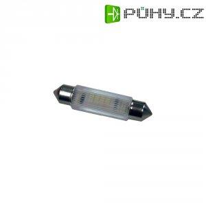 LED žárovka Signal Construct MSOG114354, 24 V DC/AC, teplá bílá, podlouhlá
