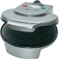 Vaflovač Clatronic HA3494, ruční nastavení teploty, stříbrná/černá