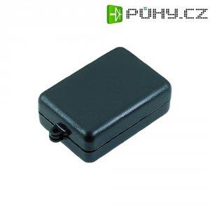 Malé přístrojové pouzdro Strapubox, (d x š x v) 54 x 37 x 21 mm, černá