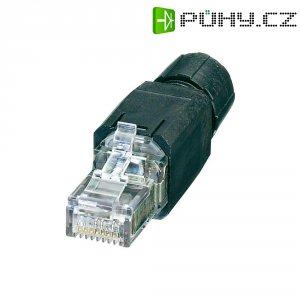 Propojovací konektor RJ45 Phoenix Contact VS-08-RJ45-5-Q/IP20 (1417401), IP20, černý