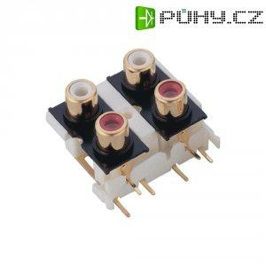 Připojovací deska cinch BKL Electronic, 4pól.