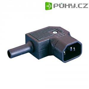 Úhlová síťová IEC zástrčka C14 Eska Bulgin, 250 V, 10 A, PX0686/SE