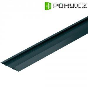 Spodní profil flexibilní lišty na kabely OBO Bettermann, 6154980, 1000 mm, černá