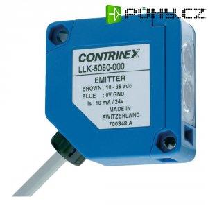 Jednocestná optická závora Contrinex LLK-5050-000 (vysílač), kabel 2 m, dosah 15 m
