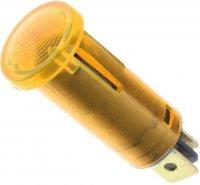 Kontrolka 230V s doutnavkou oranžová, průměr 12,5mm
