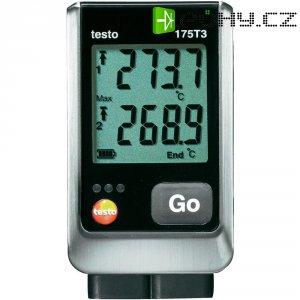 Teplotní datalogger testo 175 T3,-50 až +400 °C Typ T, -50 až +1000 °C Typ K
