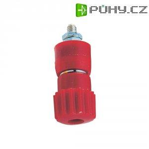 Pólová svorka, (Ø x d) 12 x 30 mm, červená