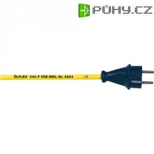 Síťový kabel LappKabel, zástrčka/otevřený konec, 450/750 V, 2 m, žlutá, 73220849