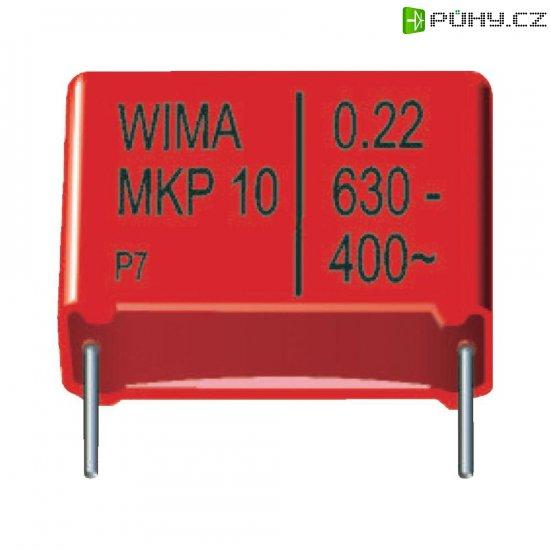 Foliový kondenzátor MKP Wima, 3300 pF, 1600 V, 20 %, 13 x 4 x 9 mm - Kliknutím na obrázek zavřete