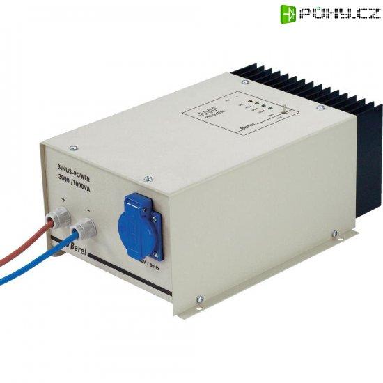 Sinusový měnič napětí DC/AC Berel SP 500S-12, 12V/230V, 500 W - Kliknutím na obrázek zavřete