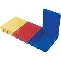 ESD SMD box vodivý Licefa N4-11-11-4-4, (d x š x v) 68 x 57 x 15 mm, žlutá