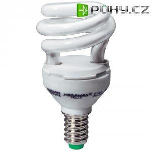 Úsporná žárovka trubková Megaman Helix E14, 8 W, denní bílá