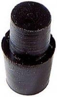 Tlumicí přístrojová nožička se západkou PB Fastener 1277-01, (Ø x v) 7 mm x 11.5 mm, černá, 1 ks