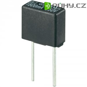 Miniaturní pojistka ESKA pomalá 883019, 250 V, 1,6 A, 8,35 x 4 x 7.7 mm