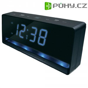 DCF stolní hodiny Techno Line WT 490, 245 x 86 x 40 mm,