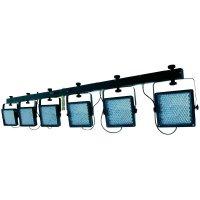 Sada 6 LED reflektorů na liště KLS-406 RGB, Multicolor