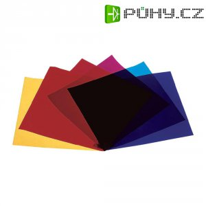 Sada barevných fólií pro žárovky Eurolite PAR 56, 4 ks