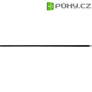 Vysokoteplotní drát LappKabel ÖLFLEX® HEAT 205 SC 0082001, 1 x 0.50 mm², vnější Ø 1.44 mm, černá, metrové zboží
