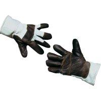 Upixx 1587 Kožené rukavice Kůže s akrylovou umělou kožešinou Velikost 11