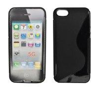 ForCell Zadní Kryt Lux S Black pro Apple iPhone 5